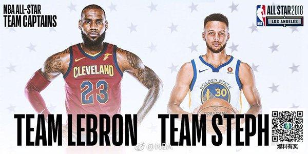 2018nba全明星赛回放|2018nba全明星赛时间赛程表 NBA全明星首发阵容