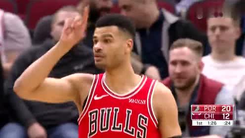 2019年03月28日NBA常规赛 开拓者VS公牛 全场录像回放视频