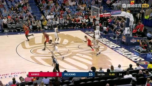 2019年03月27日NBA常规赛 老鹰VS鹈鹕 全场录像回放视频