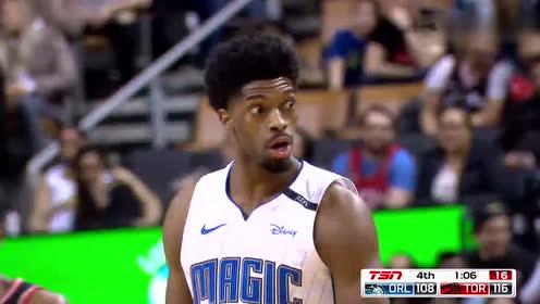 2019年04月02日NBA常规赛 魔术VS猛龙 全场录像回放视频