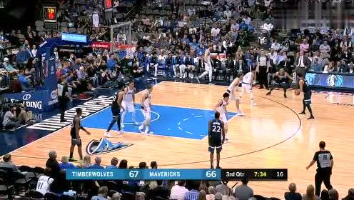 2019年04月04日NBA常规赛 森林狼VS独行侠 全场录像回放视频