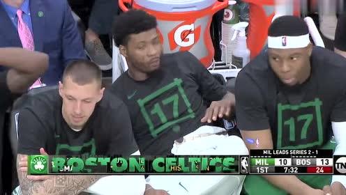 2019年05月07日NBA季后赛 雄鹿VS凯尔特人 全场录像回放视频