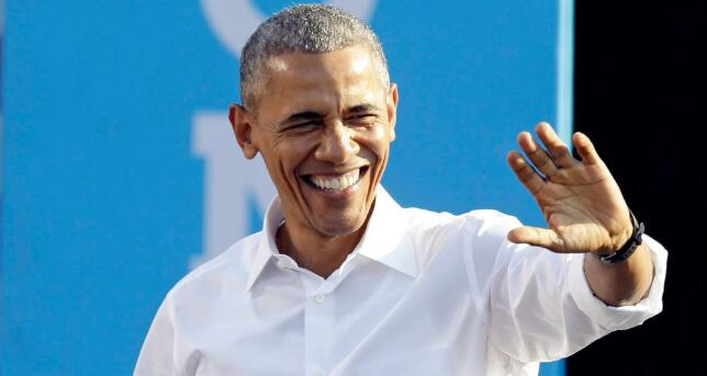 【奥巴马图片大全】奥巴马预测疯三北卡夺冠,此前连续7年预测错误