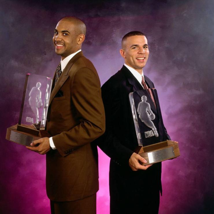 slam杂志球员排名|SLAM杂志:1995年今天,基德与希尔共享最佳新秀
