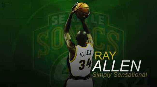【雷 阿伦】雷-阿伦:让我们为西雅图带回一支NBA球队