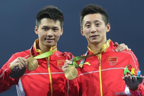 2016年里约奥运会男双十米台四连冠