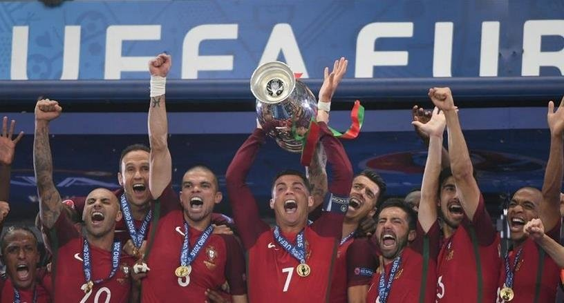 [葡萄牙2017足球欧洲杯]【欧洲杯葡萄牙夺冠高清组图】2016欧洲杯冠军
