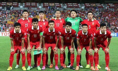 2017-2018世预赛中国队赛程积分榜