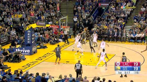 [扣篮]团队篮球玩起来 追梦制导鲁尼空接暴扣