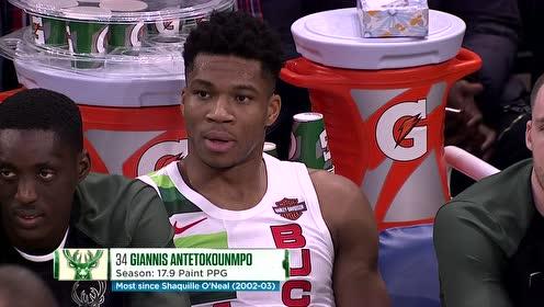 2018年12月26日NBA常规赛 雄鹿VS尼克斯 全场录像回放视频
