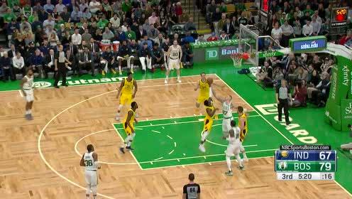 [得分]这个篮板保护得值!欧文抢下篮板海沃德助攻泰斯2+1打进