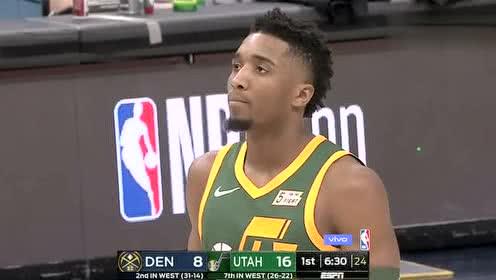 2019年01月24日NBA常规赛 掘金VS爵士 全场录像回放视频