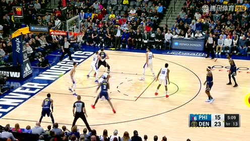 2019年01月27日NBA常规赛 76人VS掘金 全场录像回放视频