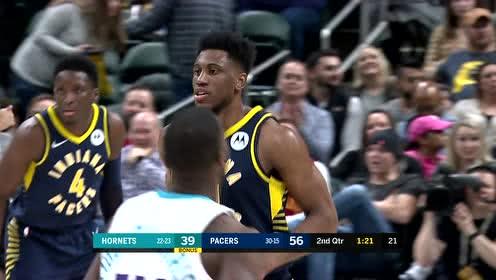 2019年01月21日NBA常规赛 黄蜂VS步行者 全场录像回放视频