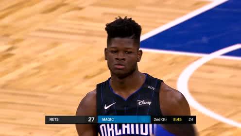 2019年01月19日NBA常规赛 篮网VS魔术 全场录像回放视频