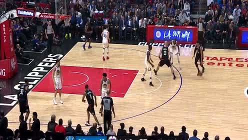 [球星]哈里斯vs勇士集锦 外线手感爆棚空取28分9篮板