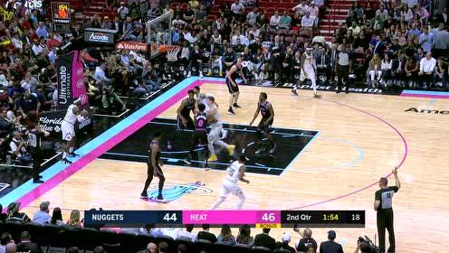 2019年01月09日NBA常规赛 掘金VS热火 全场录像回放视频