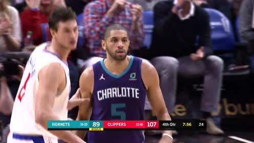 2019年01月09日NBA常规赛 黄蜂VS快船 全场录像回放视频