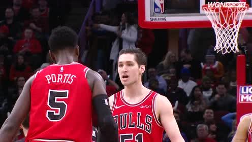 2019年01月20日NBA常规赛 热火VS公牛 全场录像回放视频
