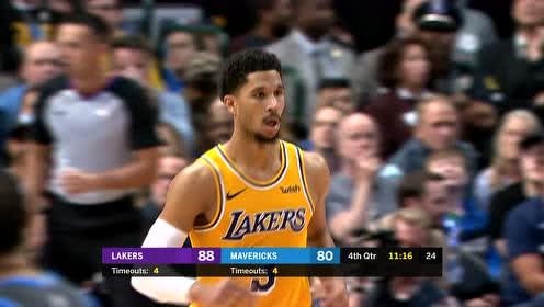 2019年01月08日NBA常规赛 湖人VS独行侠 全场录像回放视频