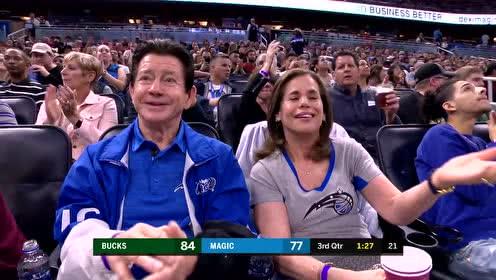2019年01月20日NBA常规赛 雄鹿VS魔术 全场录像回放视频