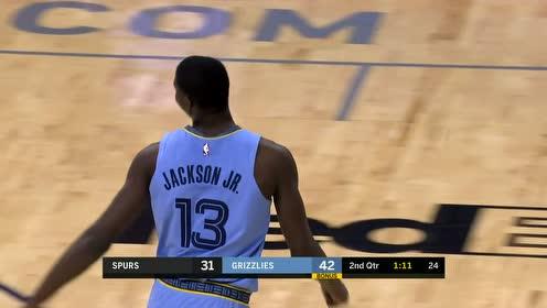[扣篮]三点连成一线 康利推反击安德森助飞杰克逊