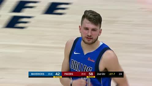 2019年01月20日NBA常规赛 独行侠VS步行者 全场录像回放视频