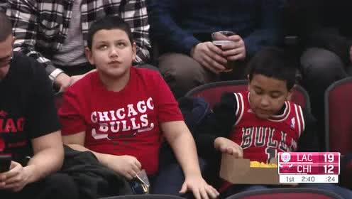 2019年01月26日NBA常规赛 快船VS公牛 全场录像回放视频