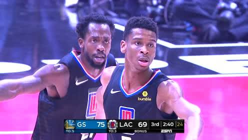 2019年01月19日NBA常规赛 勇士VS快船 全场录像回放视频