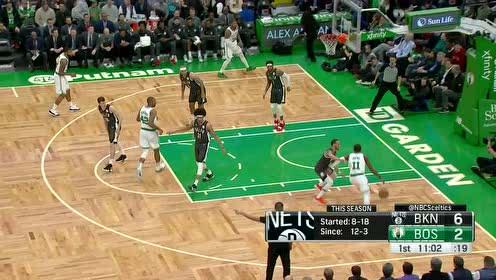 [得分]欧文抢断妙传莫里斯打进 篮网快攻连中两记三分