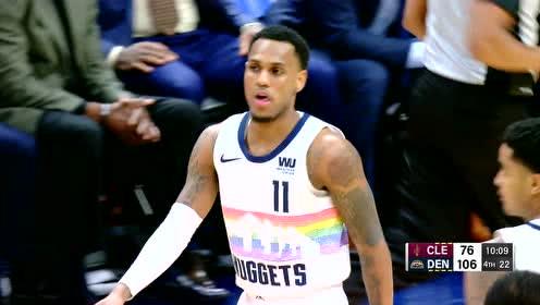 2019年01月20日NBA常规赛 骑士VS掘金 全场录像回放视频