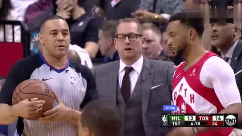 2019年02月01日NBA常规赛 雄鹿VS猛龙 全场录像回放视频