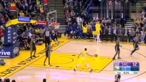 2019年02月22日NBA常规赛 国王VS勇士 全场录像回放视频