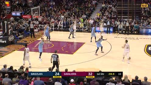 2019年02月24日NBA常规赛 灰熊VS骑士 全场录像回放视频