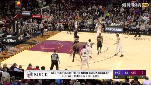 2019年02月22日NBA常规赛 太阳VS骑士 全场录像回放视频