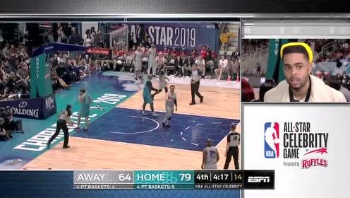 2019年02月16日NBA全明星赛 名人赛客队VS名人赛主队 全场录像回放视频