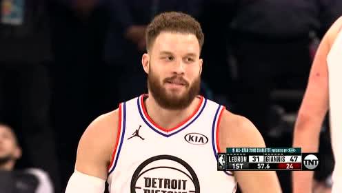 2019年02月18日NBA全明星赛 詹姆斯队VS字母哥队 全场录像回放视频
