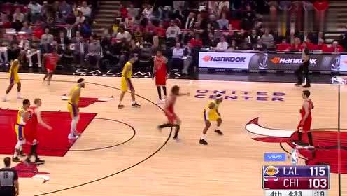 2019年03月13日NBA常规赛 湖人VS公牛 全场录像回放视频
