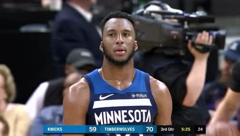 2019年03月11日NBA常规赛 尼克斯VS森林狼 全场录像回放视频