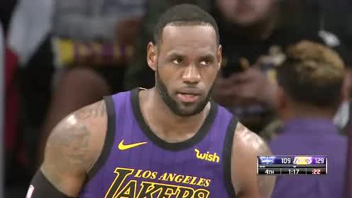 2019年03月30日NBA常规赛 黄蜂VS湖人 全场录像回放视频