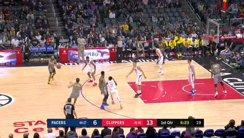 2019年03月20日NBA常规赛 步行者VS快船 全场录像回放视频