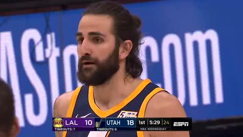 2019年03月28日NBA常规赛 湖人VS爵士 全场录像回放视频