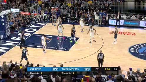 2019年03月30日NBA常规赛 勇士VS森林狼 全场录像回放视频