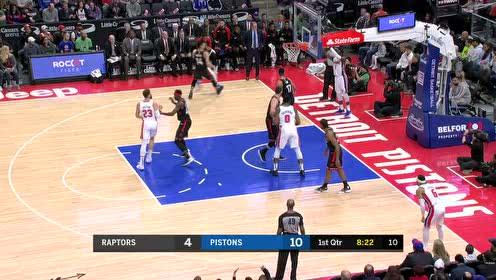 2019年03月18日NBA常规赛 猛龙VS活塞 全场录像回放视频