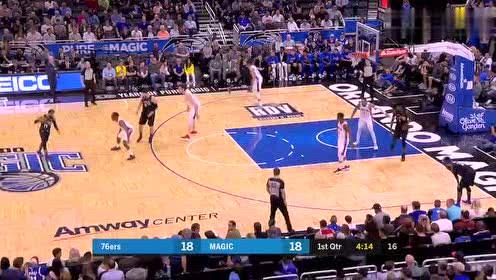 2019年03月26日NBA常规赛 76人VS魔术 全场录像回放视频