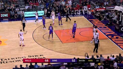 2019年03月19日NBA常规赛 公牛VS太阳 全场录像回放视频