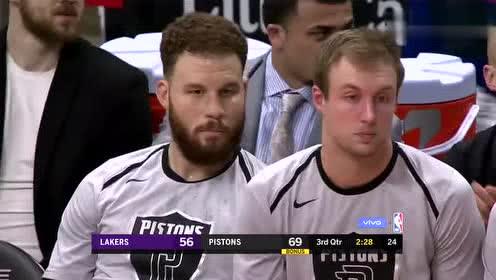 2019年03月16日NBA常规赛 湖人VS活塞 全场录像回放视频
