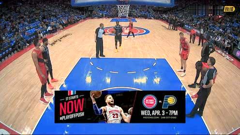 2019年03月31日NBA常规赛 开拓者VS活塞 全场录像回放视频