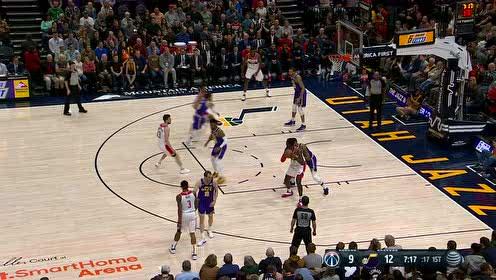 2019年03月30日NBA常规赛 奇才VS爵士 全场录像回放视频