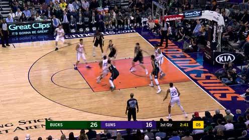 2019年03月05日NBA常规赛 雄鹿VS太阳 全场录像回放视频